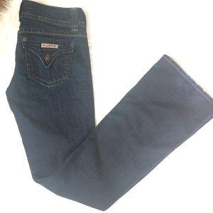 Hudson | Dark Wash Signature Bootcut Flap Pocket